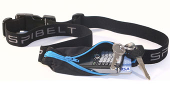 SPIbelt Running Belt to carry all your items while you are on the move